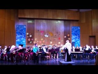 Концертный этюд с Губернаторским оркестром русских народных инструментов
