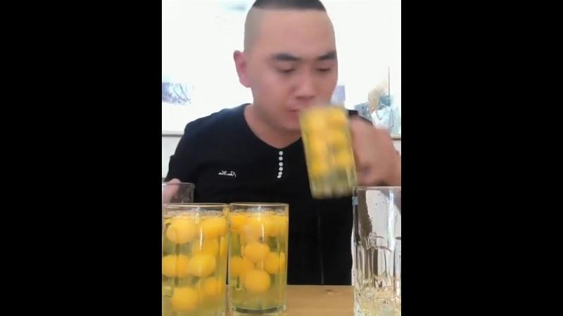 Fast egg drink