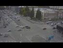 ДТП на перекресткё Красного проспекта и Гоголя 26.09