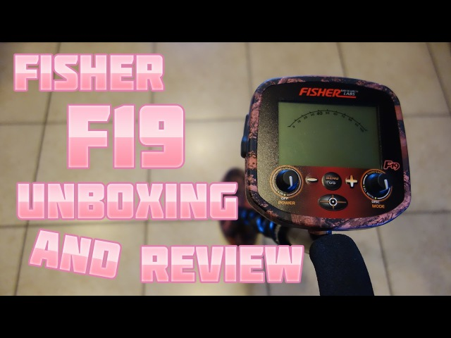 Metal Detecting Fisher Research Labs F19 Unboxing and Review
