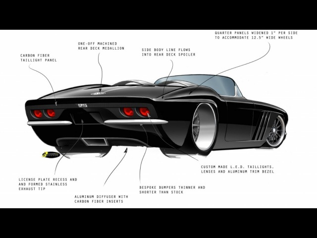 1962 Chevrolet Corvette Restomod Project - Insane Build of the C1-RS Corvette