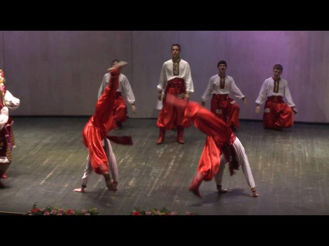 Украинский народный танец Гопак Ансамбль народного танца Кондровские непос