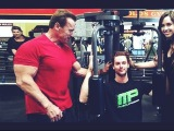 Arnold Schwarzenegger 70 Years Old Workout | BODYBUILDING