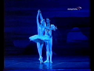 Swan lake white pas de deux - Anastasia Volochkova, Evgeny Ivanchenko