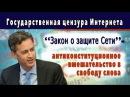 Государственная цензура Интернета – Закон о защите Сети антиконституционное...