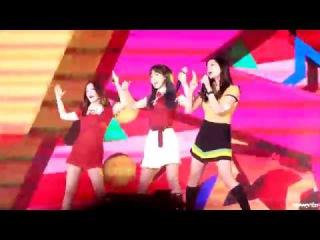 [Fancam/Red Velvet/Wendy]170114 골든디스크 Russian Roulette