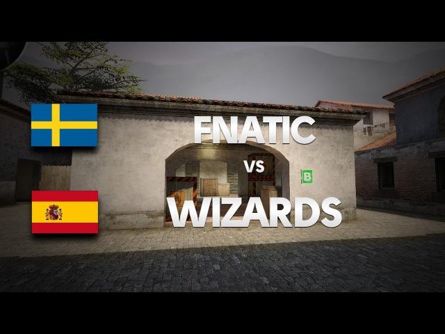 Fnatic vs Wizards on de_mirage @ HitBox by ceh9