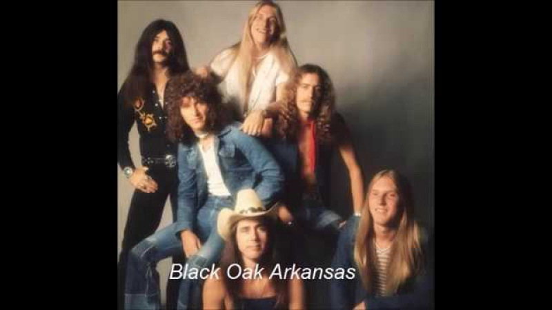 Black Oak Arkansas ~ Dark Purple Blues !