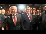 Германия СДП Габриэль отходит в сторону для Шульц, жаждет будущего ЕС с Макрон.