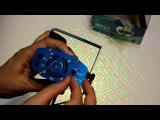 Лазерный мини проектор цветомузыка Видео обзор