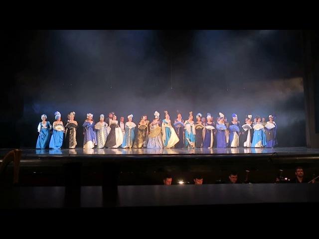 П. Чайковский опера Евгений Онегин (поклоны)
