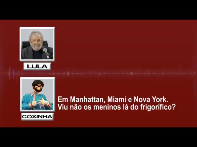 A casa caiu. Lula emocionado desabafa com coxinha