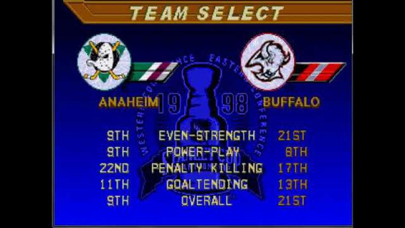 NHL 98. Финал. Rustin Cohle vs Zamboni