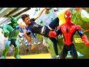 Детское видео 👊 БИТВА на Скалодроме ЧеловекПАУК vs Зелёный Гоблин АктивныйОт