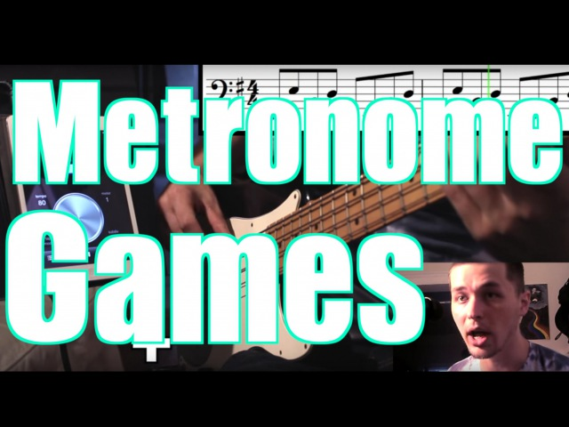 7 Cool Metronome Games [ ANs Bass Lessons 5 ]