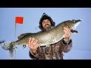 Зимняя рыбалка на щуку 2017 Балансир жерлицы