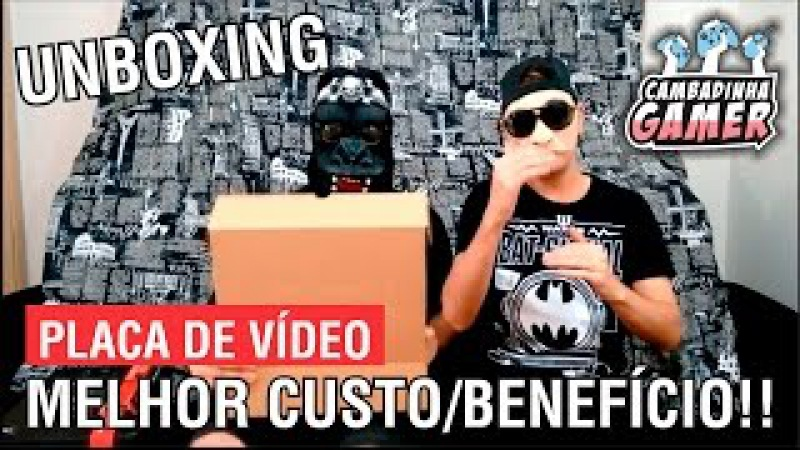 UNBOXING PLACA DE VÍDEO - XFX RADEON RX 470 4GB