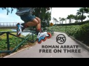 Roman Abrate is free on three - Urban skating in Miraflores, Lima - Powerslide Inline Skates