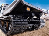 Offroad tracked vehicle for hunting, fishing, tourism. Vehicles with tracks