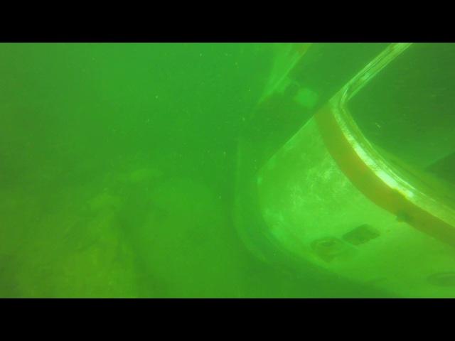 Затопленный автобус.Монаховский карьер,Нижняя Крынка