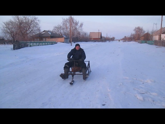 Moto sled scream мото сани умора