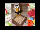 ЧАСТЬ 4. Игрушка амигуруми. Ворона Дуняша, вязанная крючком: вяжем клюв.