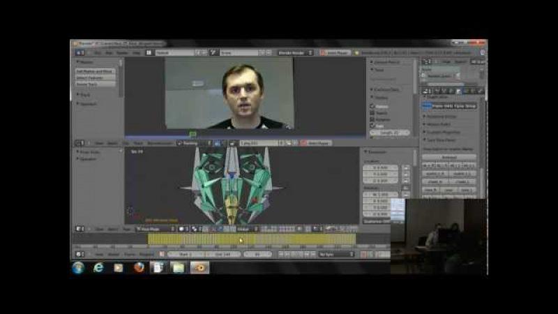 Motion tracker для лицевой анимации в Blender (part 06)