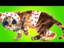 ПРИКЛЮЧЕНИЕ МАЛЕНЬКОГО КОТЕНКА мультик смешное видео для детей мультфильм про ...