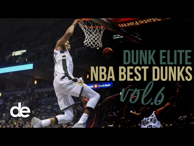 NBA Best Dunks vol 6 feat. Giannis Antetokounmpo, Kristaps Porzingis LeBron James | Dunk Elite