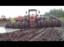 Тракторы Застряли в Грязи 2017 Или Танки грязи не Бойятся