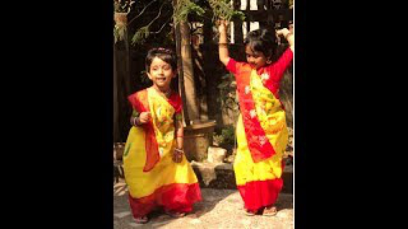 Phule Phule Dole Dole Dance By Little Prioska And Her Sister