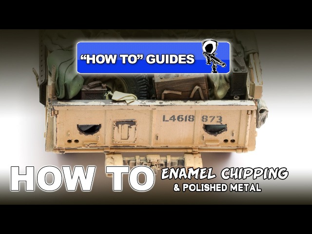 ENAMEL CHIPPING POLISHED METAL HOW TO GUIDE