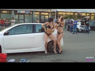 Sexy car wash 2 - sexy girls car wash   bonnie rotten, boroka bolls, brandi belle, brandi edwards 2017