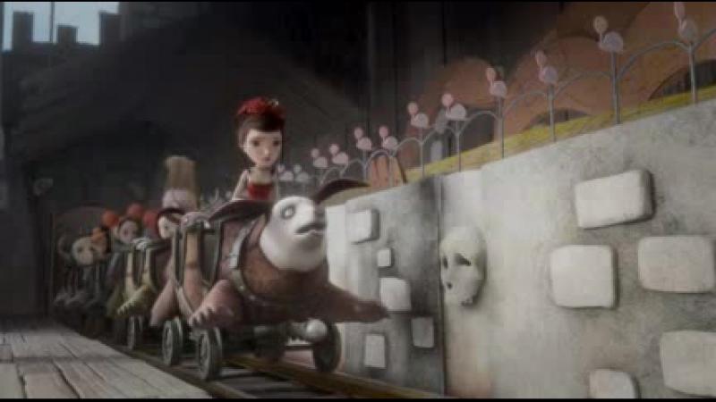 Dionysos - King Of The Ghost Train (фрагмент мультфильма перевод) OST Механика Сердца [Jack Et La Mecanique Du Coeur]