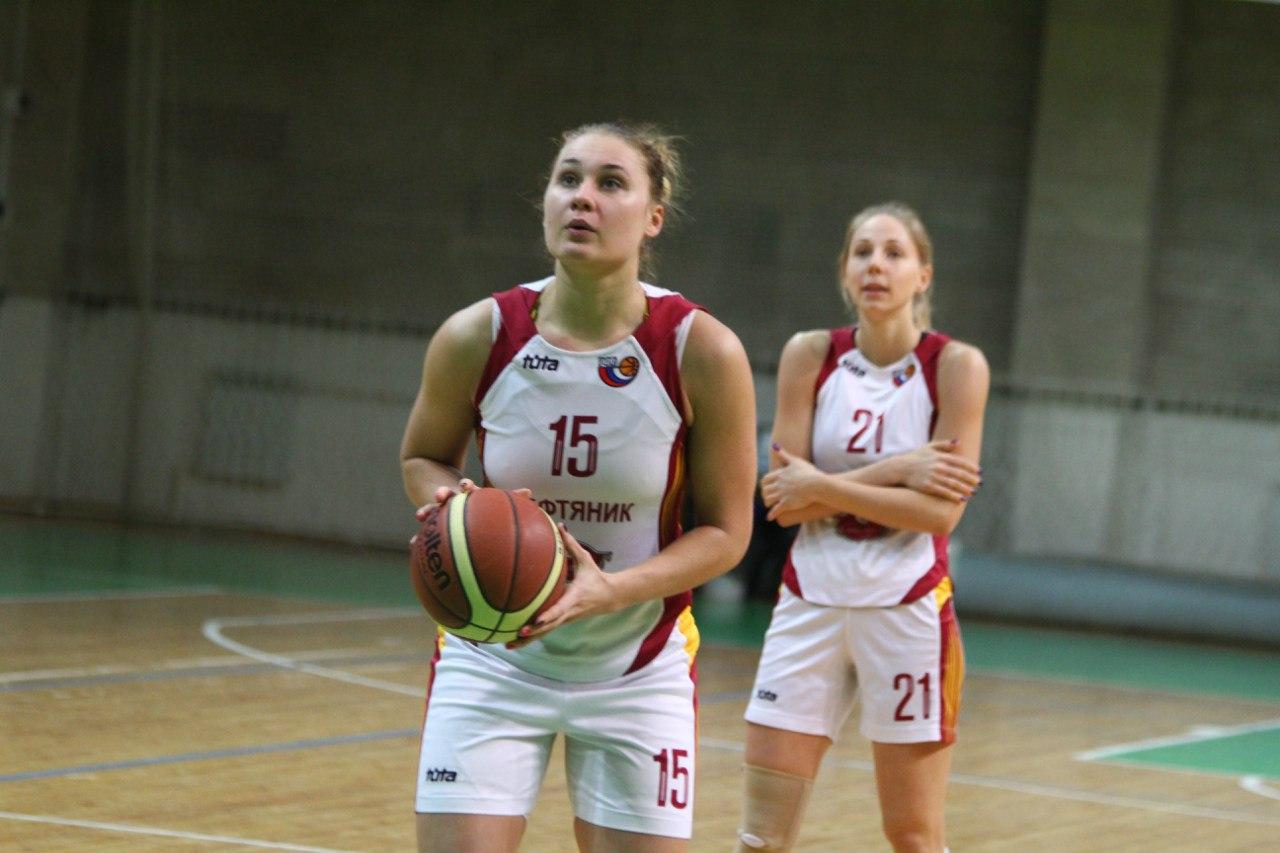 Елена Федотова возвращается в «Нефтяник»!