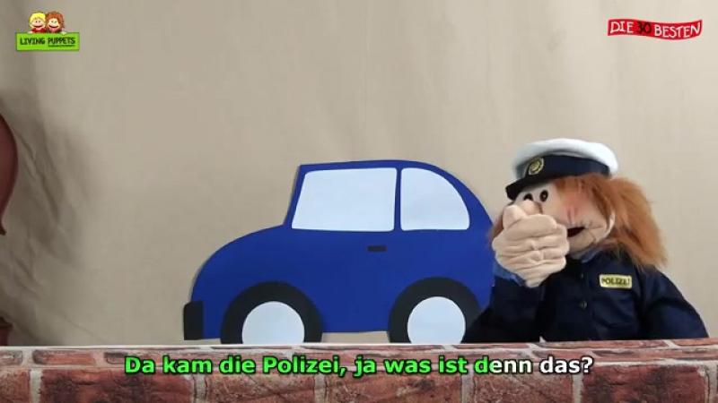 3 Chinesen mit dem Kontrabass Kinderlieder Puppenvideo
