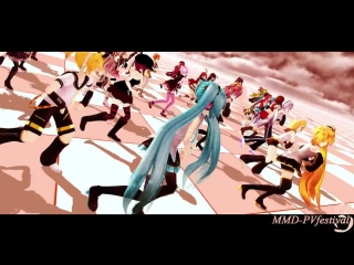 MMD-PVF384TIMBER!VOCALOID_UTAU