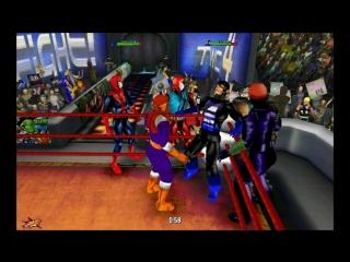 Барон Земо, Блудекс, Алый Паук и Человек-Паук против Агента США, Красного Черепа, Венома и Карнеджа