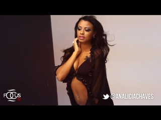Analicia Chaves First Photo SHOOT IN MONTREAL (BTS)