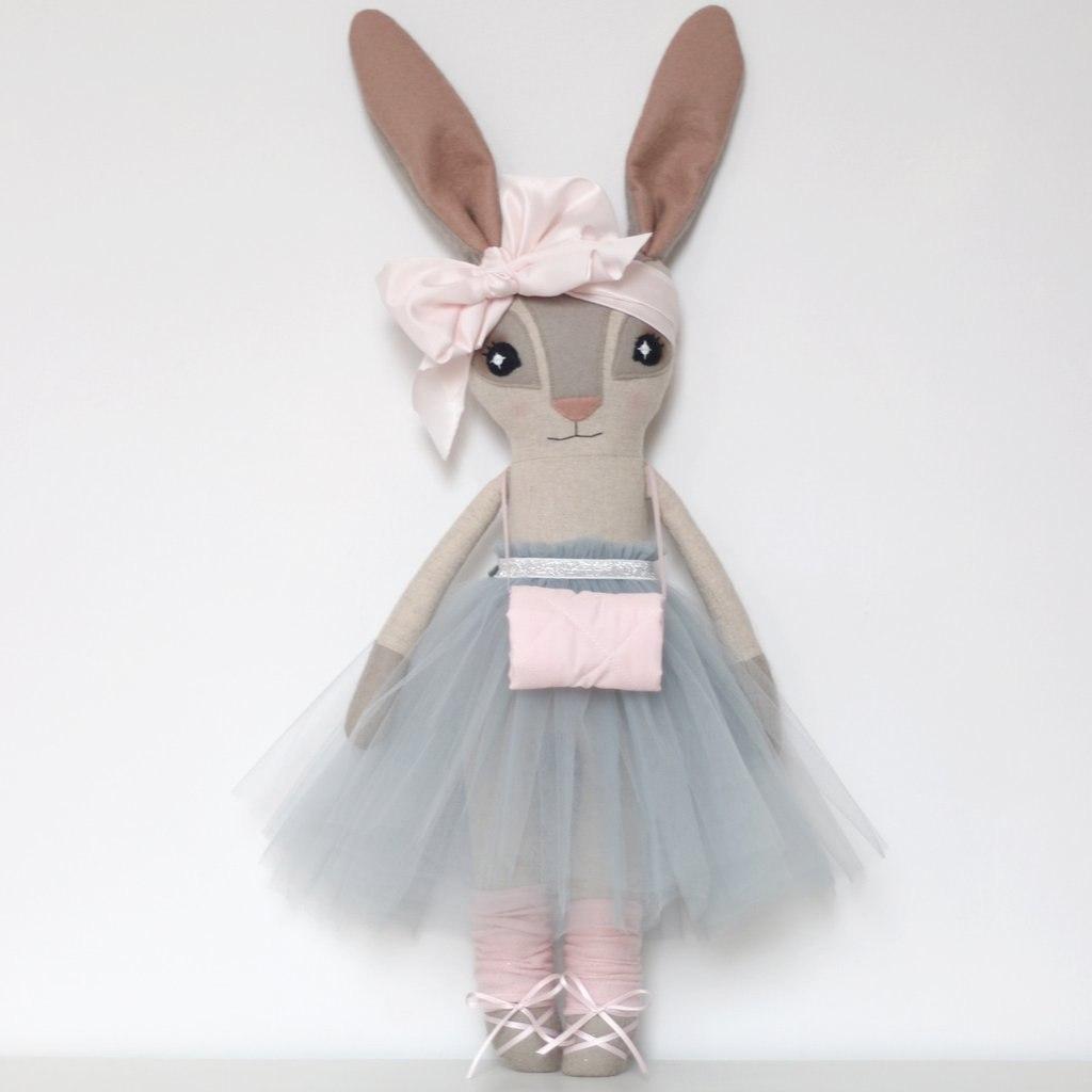 игрушка мягкая заяц
