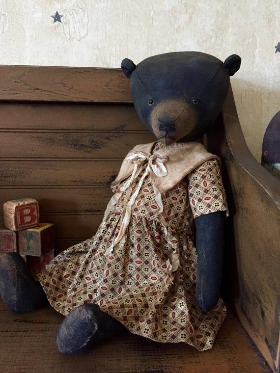 медведь старинный