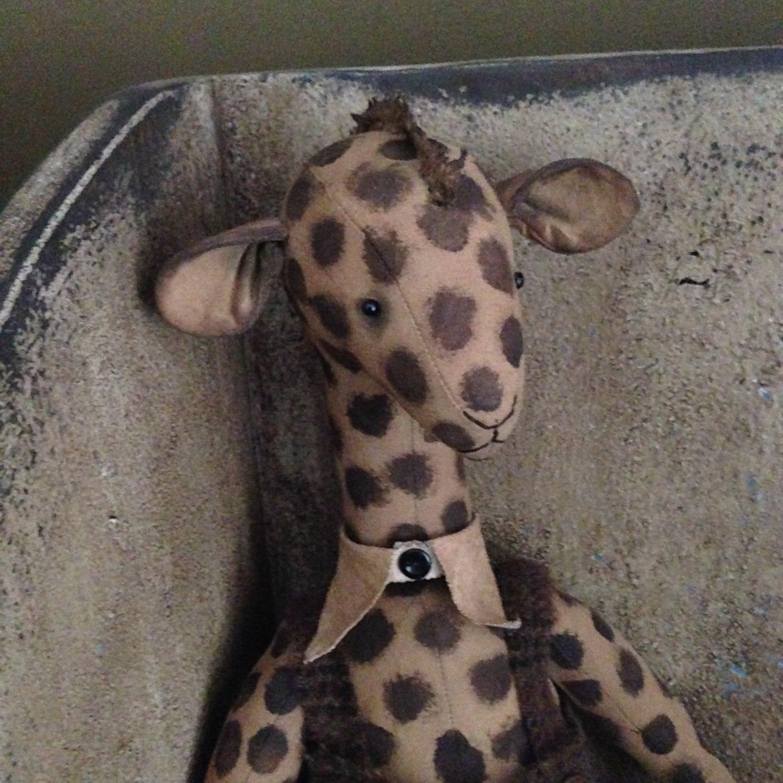 стильный жираф
