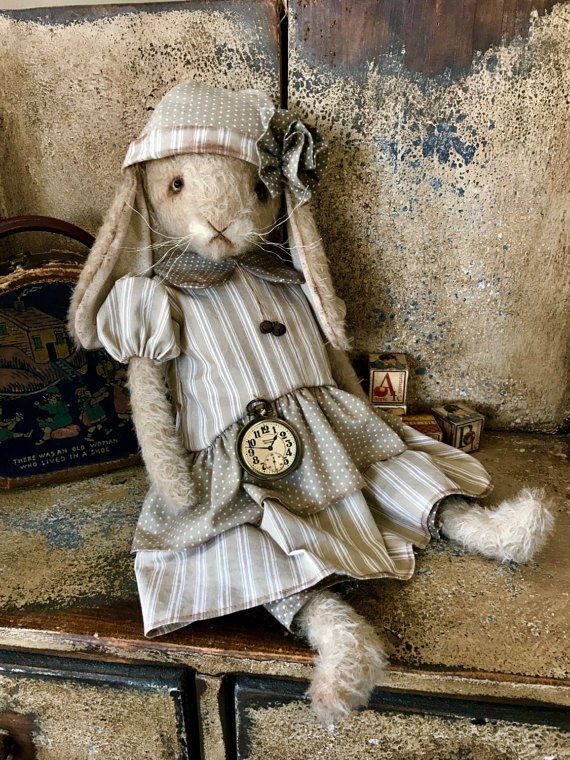 кролик винтажный