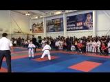 Краевой турнир по каратэ, посвященный 80-летию образования Краснодарского края ?? Наш чемпион Диядилов Магомед ???