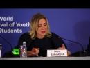 «Фейковые новости как угроза цифровой дипломатии»: Захарова участвует в форуме молодых дипломатов