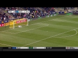 David Villa scores AMAZING goal from 53.5 yards out!