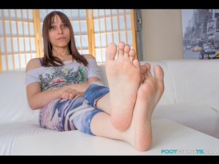 image Feet worship for job promotion