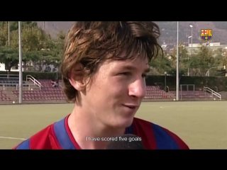 COMPILATION- Leo Messi top skills during Barça Youth Academy