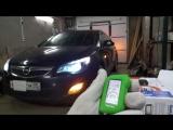 Opel Astra J запуск