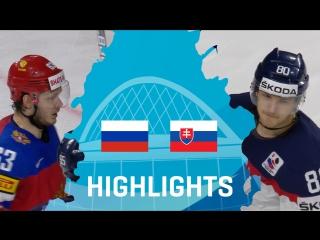Россия - Словакия - 6:0